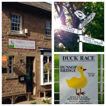 Duck race at Dunsop Bridge! :)