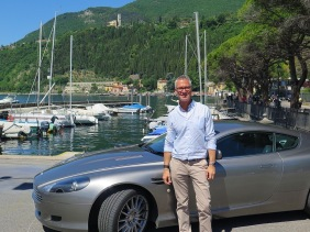 Loving lake Garda, my ride, and life!